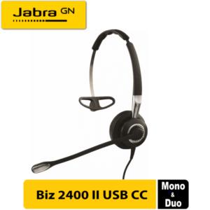 Jabra Biz 2400 Ii Usb Cc Dubai